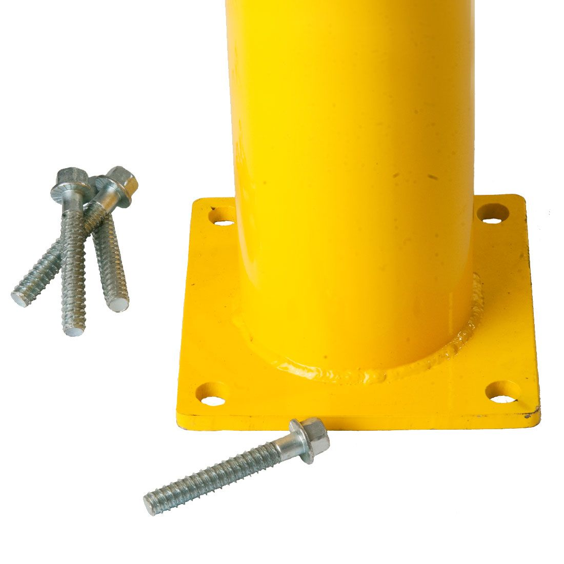 architectural surface mount bolt down bollards canada